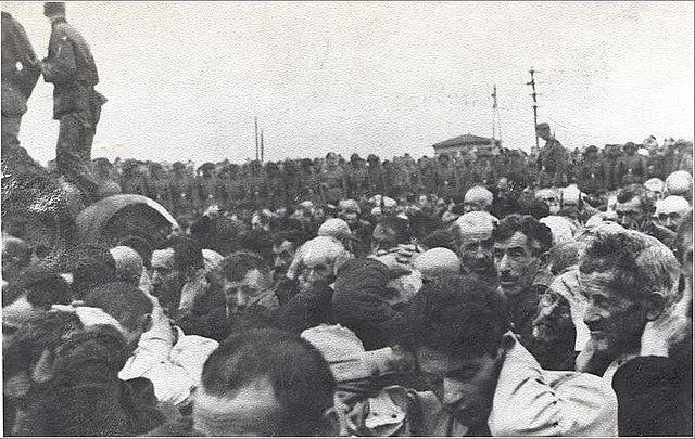 Likwidacja getta w Białymstoku. Zdjęcie zrobione 15–20 sierpnia 1943 roku