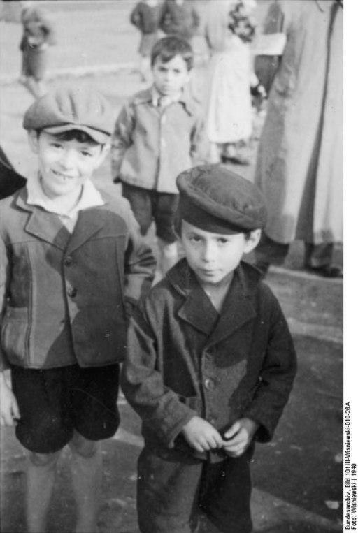 Żydowskie dzieci, Polska 1940