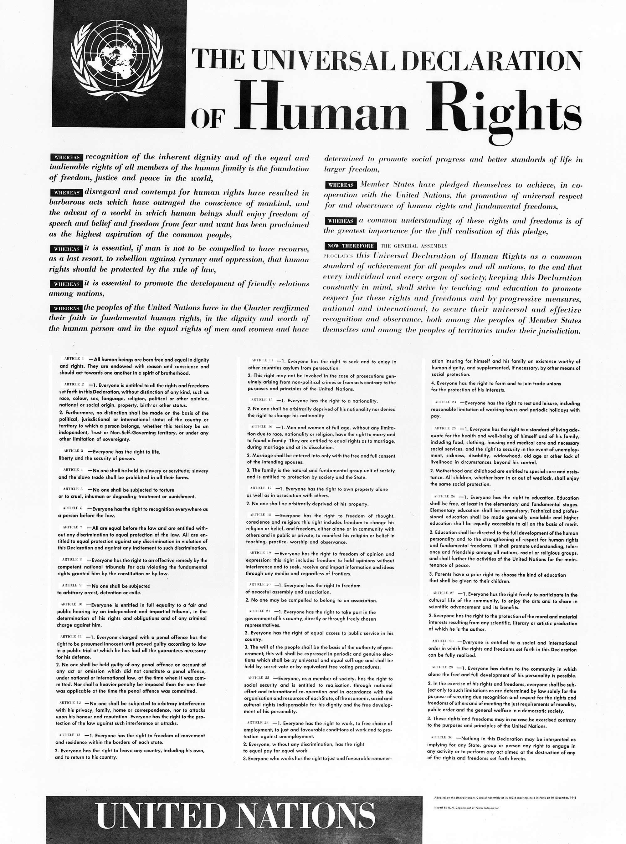 Deklaracja praw człowieka