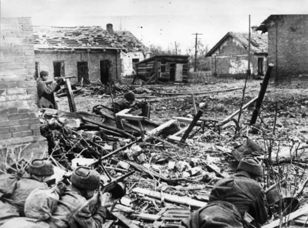 Radziecka piechota w Stalingradzie
