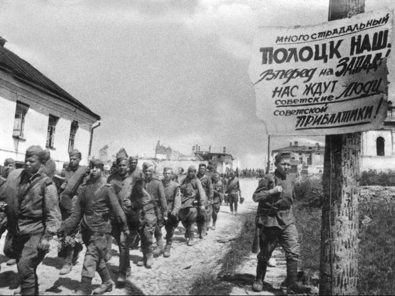 Wojska sowieckie na Białorusi